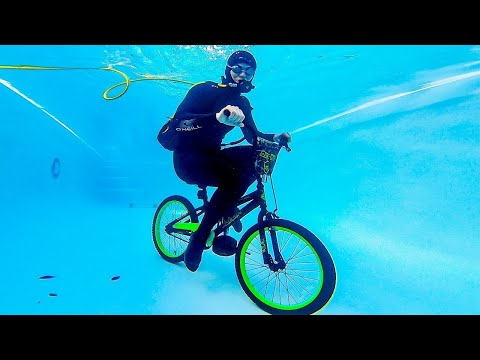 CAN YOU RIDE A BICYCLE UNDERWATER?