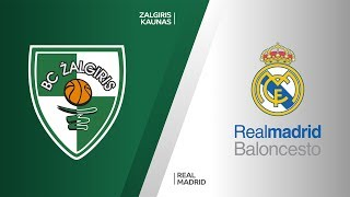 Zalgiris Kaunas - Real Madrid Highlights | Turkish Airlines EuroLeague, RS Round 3