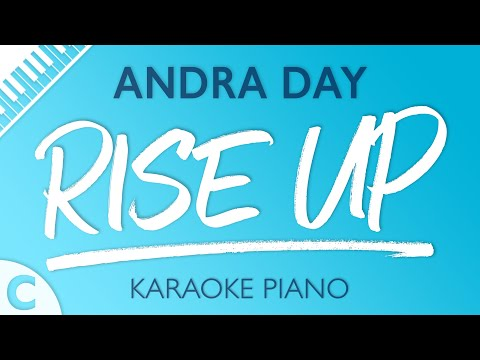 Rise Up (Lower Key of C) [Piano Karaoke Instrumental] Andra Day