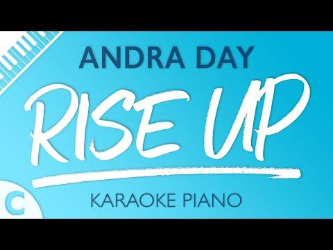 Rise Up (Lower Key of C) [Piano Karaoke Instrumental] Andra Day