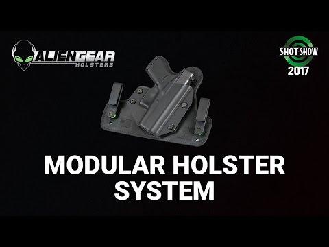 Alien Gear Modular Holster System - SHOT Show 2017 Day 2