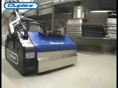How Duplex Floor Cleaning Equipment Works
