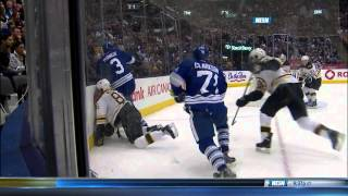 dion phaneuf boards kevan miller 12 8 13