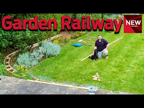 New Junction:  Building an 'O' gauge Garden Railway  Part One