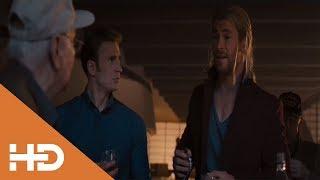 Мстители расслабляются на вечеринке | Мстители: Эра Альтрона (2015)