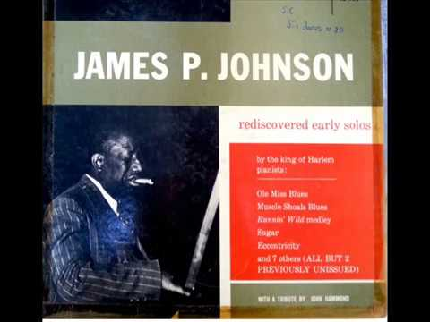''Arkansas Blues'' - James P. Johnson 1921 - piano roll QRS 1670