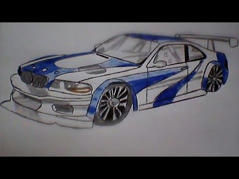Como Desenhar Bmw Do Need For Speed Most Wanted Youtube