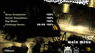 100% Save game Nfs Mw 100 million money + most blacklist cars save game DOWNLOAD HD