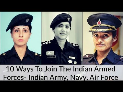 Join Indian armed forces as an officer