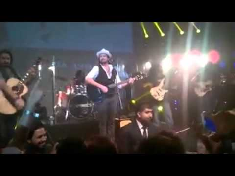 Unplugged with Atif Aslam Live at Hard Rock Cafe Dubai 11-10-2014