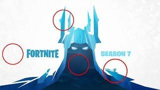 Fortnite: Season 7 Theme Explained (Break Down) ICE VILLAIN, SKIING COMING!