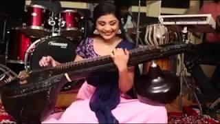 Jimikki Kammal in veena Mohanlal Dance Video Song Sherin Velipadinte Pustakam Lal Jose instrumental