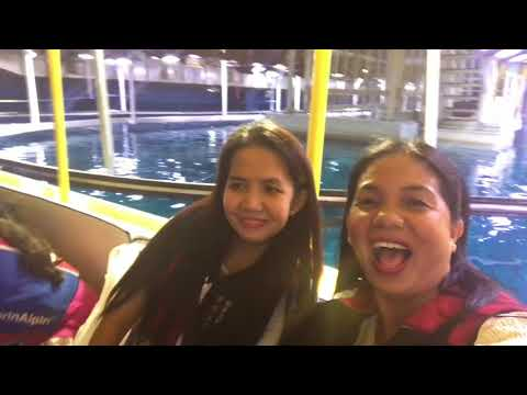 LIFE OFW IN DUBAI@Dubai Aquarium underwater zoo and Explorer with Glass Bottom boat Rides # vlog19