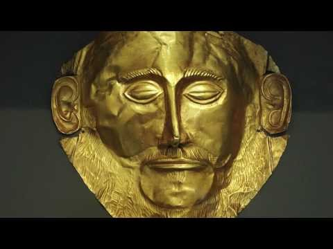 Mask of Agamemnon, Mycenae, c. 1550-1500 B.C.E.
