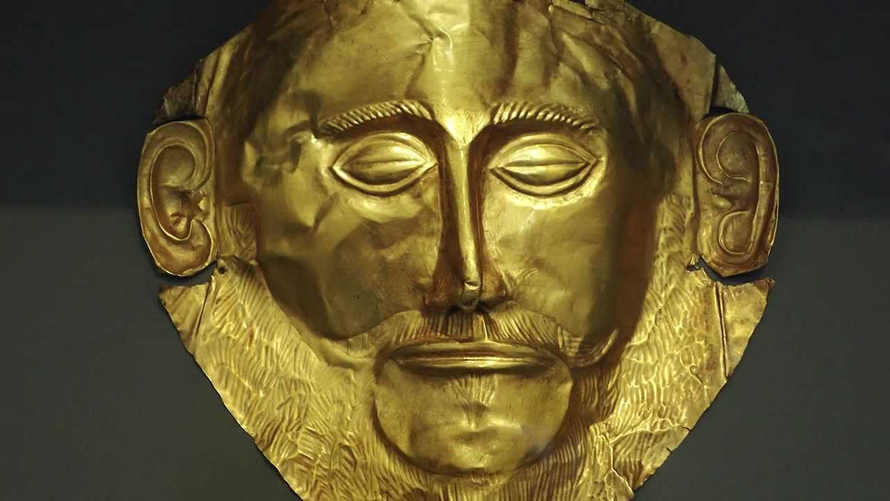 'Mask of Agamemnon' (Replica) © Archaeological Museum of Mycenae