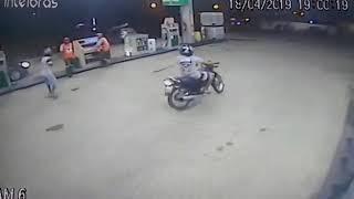 Postos de gasolina são alvos de assaltos em menos de uma hora; veja os vídeos!