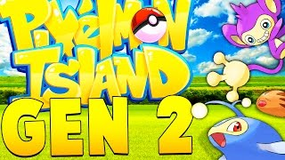 FINALLY BACK TO STREAMING GEN 2 - Minecraft Pixelmon Island - Pokemon Mod
