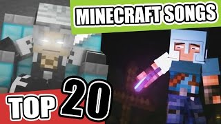 ♪ Top 20 Minecraft Songs and Animations of January 2017 ♪ NEW Best Minecraft Song Compilations ♪