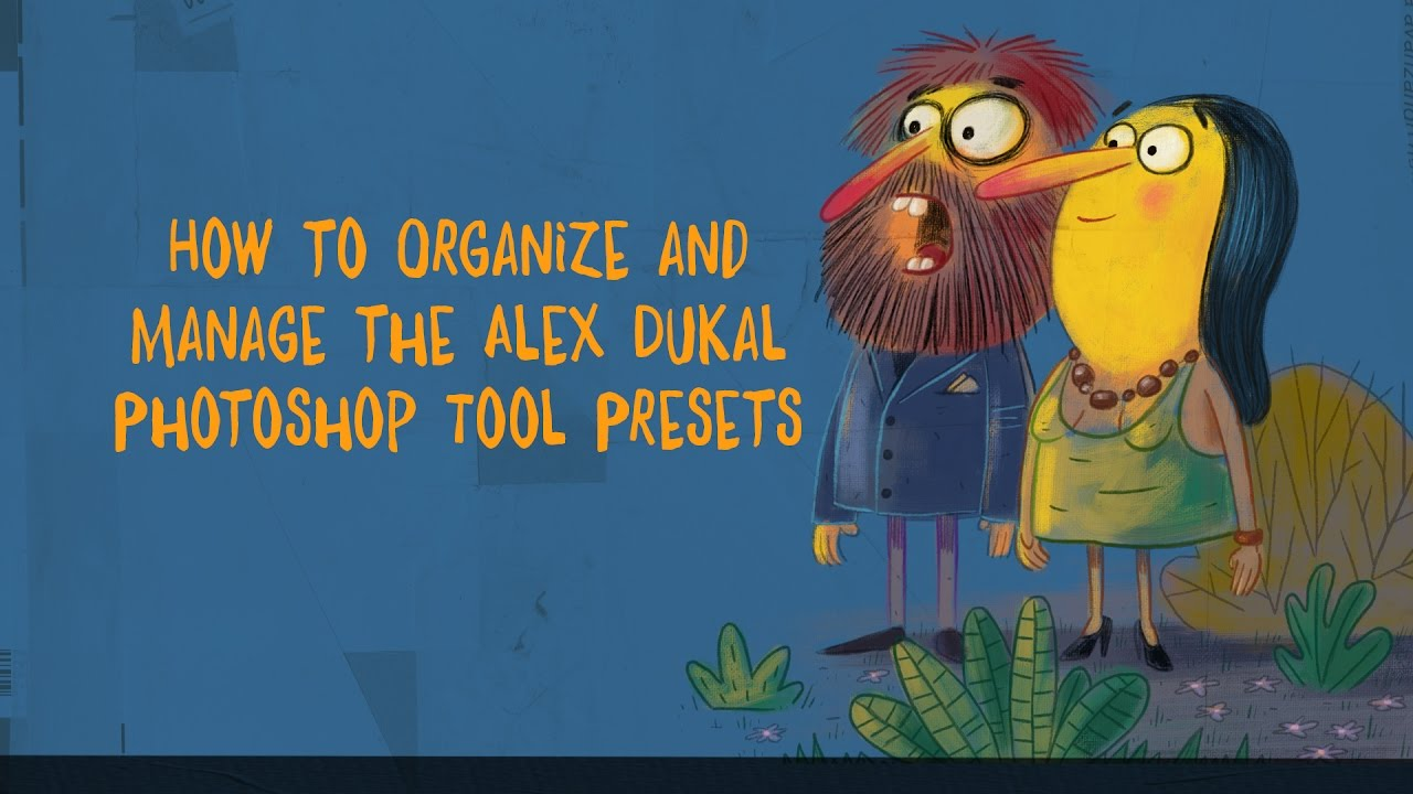 How to Organize & Manage Photoshop Tool Presets