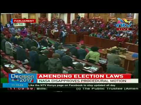 Journey to changing elections laws in Kenya starts