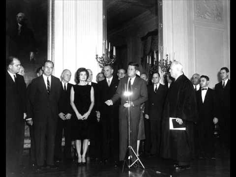 THE SWEARING-IN OF JFK'S CABINET AND OTHER APPOINTEES (JANUARY ...