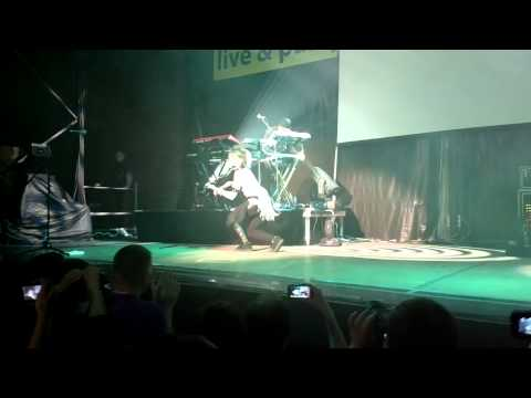"Lindsey Stirling - ""Anti Gravity"" - Live In Moscow 22.05.2013"