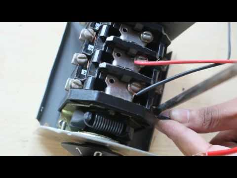 how to make | Change Over Switch Connection | Change Over Switch | Electrical Works| Motor |