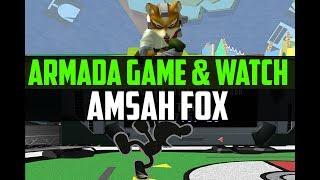 Armada (Game & Watch) vs. Amsah (Fox) - BO5 Melee Friendlies