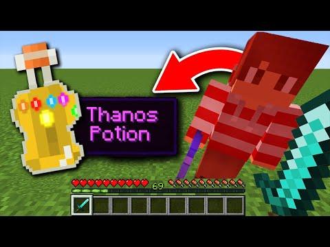 Minecraft Manhunt, But Kills Give Custom Potions