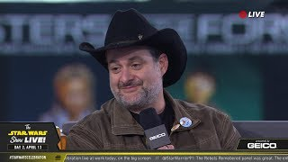 Dave Filoni Takes The Stage At SWCC 2019 | The Star Wars Show Live!