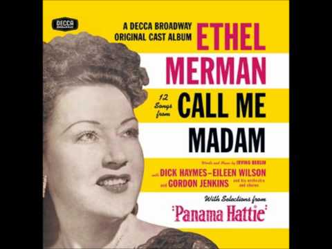 "Ethel Merman -- ""The Hostess with the Mostess' on the Ball"""