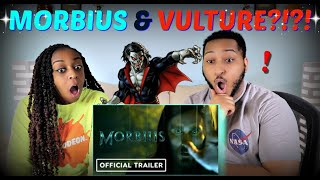 """Morbius"" Official Teaser Trailer REACTION!!!"