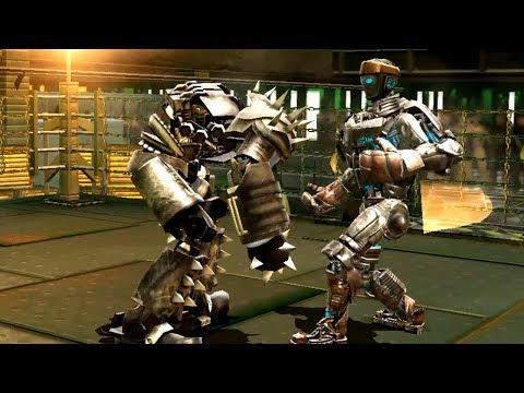 REAL STEEL WRB Hollowjack VS Atom & Nitro & Camelot & Dreadlord