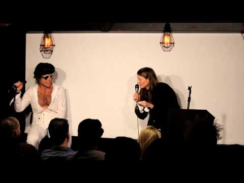 Anna Seregina roasts Elvis Presley