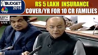 Budget 2018 India Live: Rs 5 lakh Medical Insurance Cover/Yr for 10 Cr Families