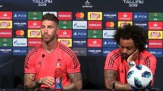 Durisimo palo de Sergio Ramos a Klopp ¡Sin palabras! | Real Madrid-Liverpool | 2018