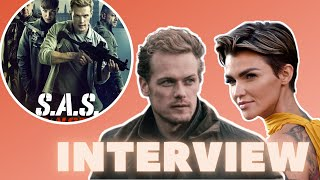 Interview with Ruby Rose and Sam Heughan For SAS: Red Notice