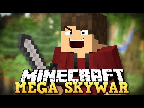 MEGA SKYWAR! Novo Minigame no Minecraft Games!!!