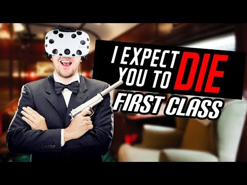 New Mission Update! First Class! - I Expect You to Die Gameplay - VR HTC Vive