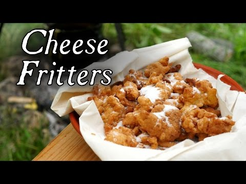 18th Century Cheese Curd Fritters