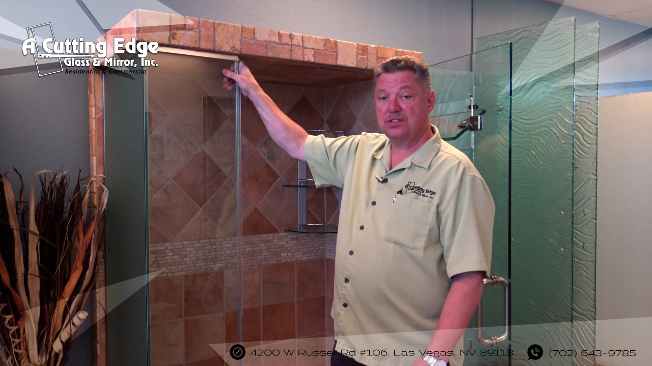 How To Replace Your Poly Carbonate Shower Doors Strikes Youtube