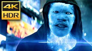 4K HDR • Electro Scene - Amazing Spider-Man 2 ᴬᵗᵐᵒˢ