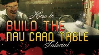 Black Ops 2 Zombies - Build The Buried Nav Card Table (die Rise Nav Card Accepted) Tutorial