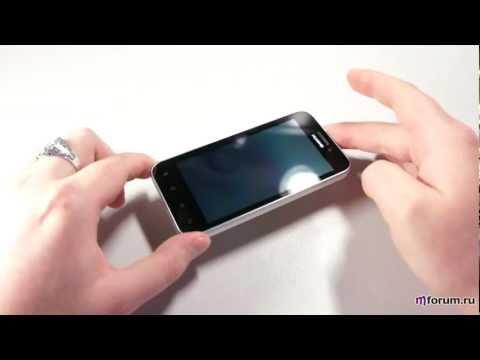 Обзор Huawei Honor U8860 - внешний вид и спецификация