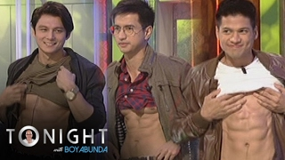 TWBA: Vin, RK, and Joseph reveal what is under their shirts!