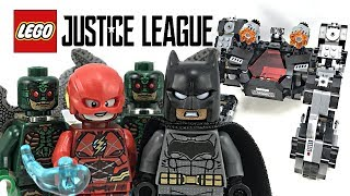 LEGO Justice League Knightcrawler Tunnel Attack review! 2017 set 76086!