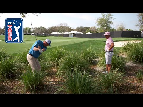 Rickie Fowler and Jason Dufner play A-P-I at Bay Hill