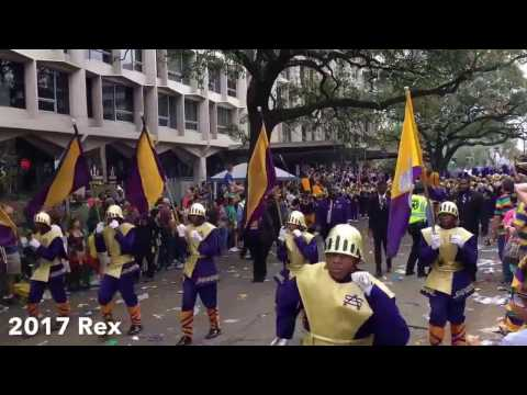 St Aug Marching 100 -- Thoth & Rex Parade  2017