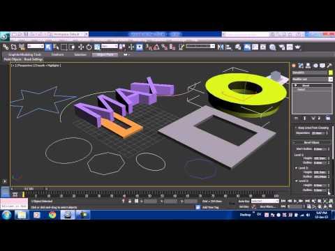 Học 3Ds Max 2013 căn bản Video 3