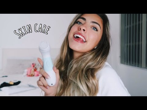 MY EVERYDAY SKINCARE ROUTINE+MAKEUP ROUTINE || Valeria Arguelles